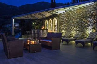 facilities villa kastro outdoor sitting area