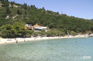 lefkada island villa kastro beach