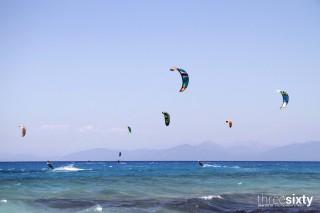 lefkada island villa kastro kitesurfing