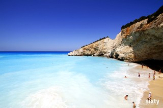 lefkada island villa kastro porto katsiki beach