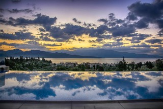 location villa kastro charming sunset
