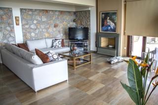 villa kastro lefkada lounge room