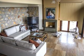 villa kastro lefkada sitting room