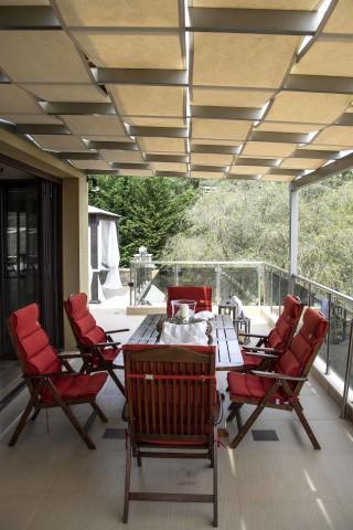 villa kastro lefkada veranda